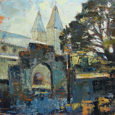 Susan Isaac - The North Gate to Southwell Minster