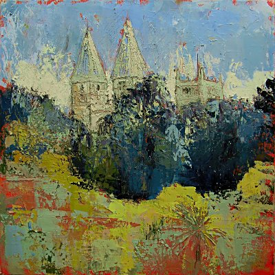 Susan Isaac - Southwell Minster from Westgate