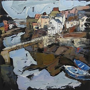 Susan Isaac - Staithes Beck & Footbridge