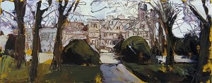 Susan Isaac - Rufford Abbey from the North