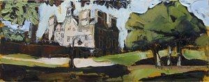 Susan Isaac - Rufford Abbey from the South East
