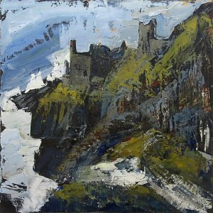 Susan Isaac - The Crowns Engine Houses at Botallack, Cornwall