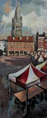 Susan Isaac - Market Place, Newark-on-Trent