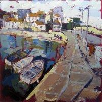 Susan Isaac - Smeaton's Pier at St Ives