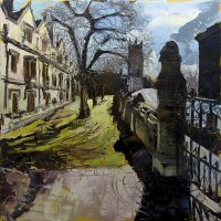 Susan Isaac - Magdalen College along the High Street, Oxford