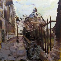 Susan Isaac - The Radcliffe & St Mary's Passage, Oxford