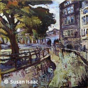 Susan Isaac - Pulteney Bridge from Riverside Walk, Bath