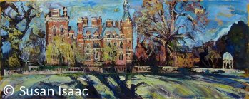 Susan Isaac - Kelham Hall from the River