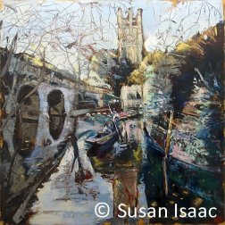 Susan Isaac - Magdalen Tower & Bridge, Oxford