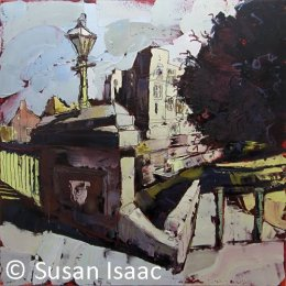 Newark Castle and Trent Bridge