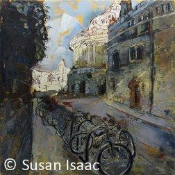 Susan Isaac - Radcliffe Camera from Brasenose Lane, Oxford