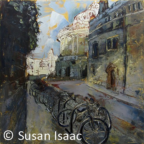 Susan Isaac - Radcliffe Camera from Brasenose Lane, Oxford