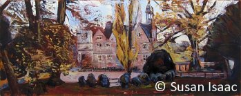 Susan Isaac - Rufford Abbey from the West