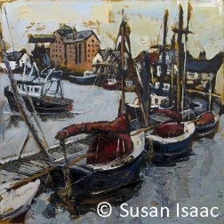 Susan Isaac - The Harbour, Wells-next-the-Sea