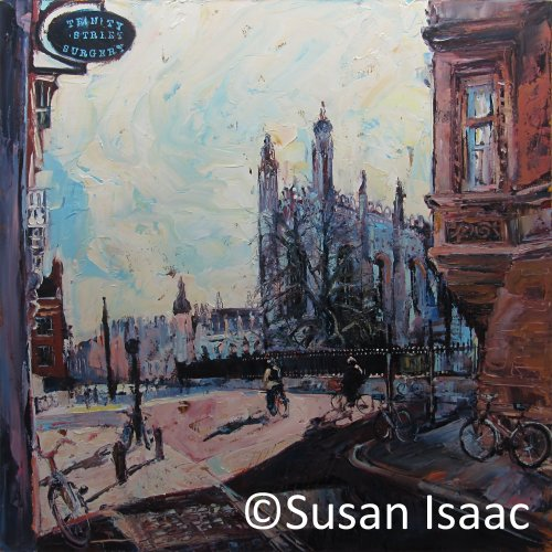 Susan Isaac - Kings College Cambridge from Trinity Street