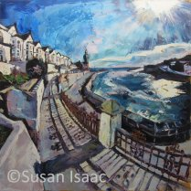 Susan Isaac - Bay View Terrace, Porthleven