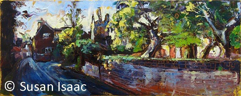 Susan Isaac - Church Lane Upton