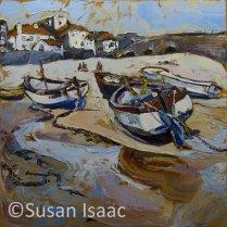 Susan Isaac - Harbour Beach, St Ives