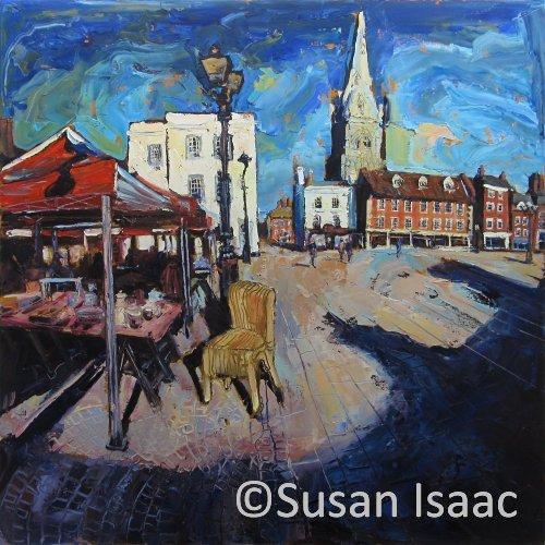 Susan Isaac - Market Place Newark-on-Trent