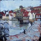 Susan Isaac - Old Town, Whitby from Fish Pier