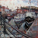 Susan Isaac - Whitby from Endeavour Wharf