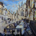 Susan Isaac - Outside the Pump Room, Bath