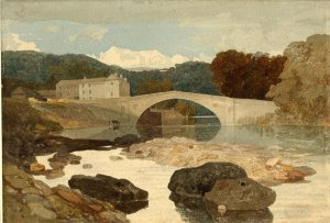 John Sell Cotman - Greta Bridge (British Museum)
