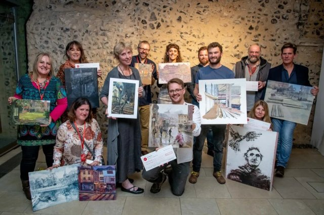 Paint Out Norwich 2018 - prize winners