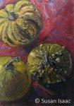 Susan Isaac - Gourds Still Life