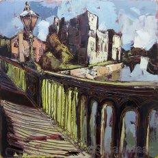 Susan Isaac - Newark Castle from Trent Bridge