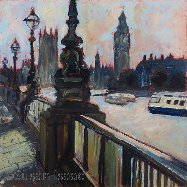 Susan Isaac - Parliament from the South Bank London