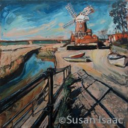 Susan Isaac - The Mill at Cley-next-the-Sea