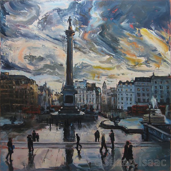 Susan Isaac - Trafalgar Square London