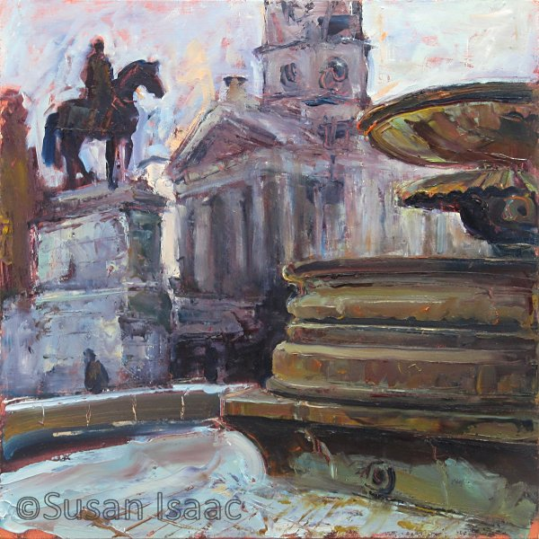Susan Isaac - Trafalgar and St Martins London