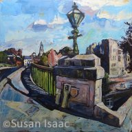 Susan Isaac - Trent Bridge and Castle at Newark-on-Trent