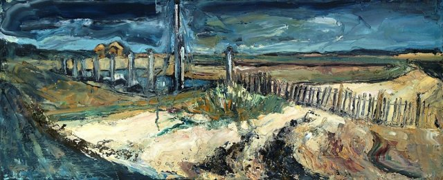 Susan Isaac - Fence and Defence (Wells-next-the-Sea)