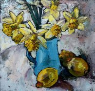 Susan Isaac - Still Life with Blue Jug