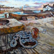 Susan Isaac - Porthleven Harbour from the Harbour Wall
