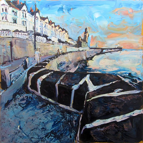 Susan Isaac - Towards the Evening Light, Porthleven