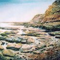 Susan Isaac - Staithes Foreshore (2006)