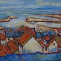 Susan Isaac - Staithes and Staithes Harbour (2006)