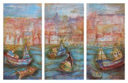 169 Susan Isaac - Whitby Triptych (2006) Sv100759
