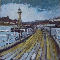 Susan Isaac - Whitby from West Pier (2008)