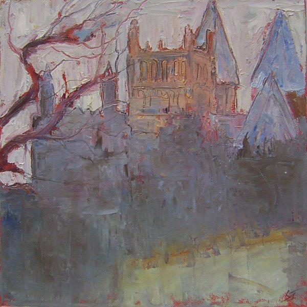 Susan Isaac - Southwell Minster in the Evening