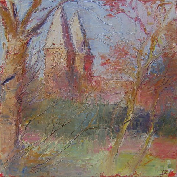 Susan Isaac - Southwell Minster on an Autumn Afternoon