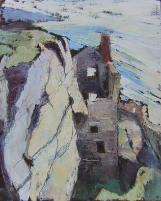 Susan Isaac - Engine House at Botallack
