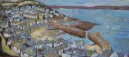 Susan Isaac - The Harbour at Mousehole