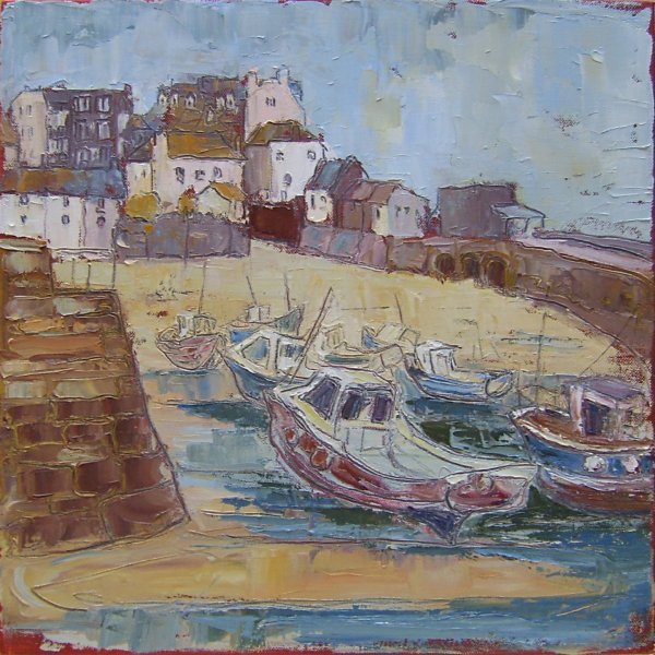 Susan Isaac - The Harbour, St Ives