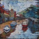 Susan Isaac - The Beck at Staithes (2008)