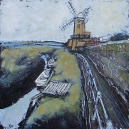 Susan Isaac - Cley Windmill and the Glaven